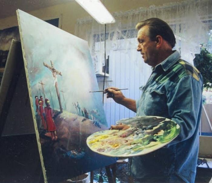Artist Arnold McDowell image