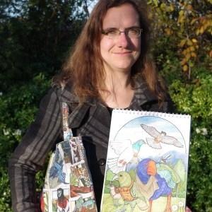 """Angela Oliver """"LemurKat"""" image"""