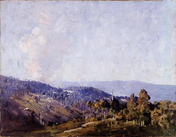Arthur Streeton image
