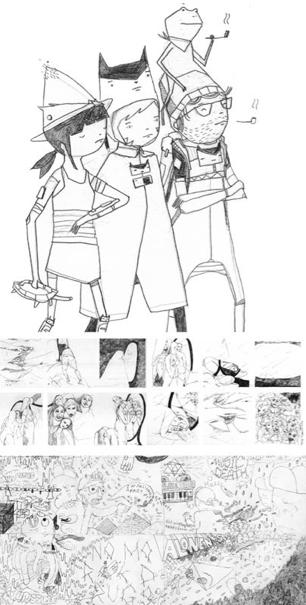 DAILES comic anthology image