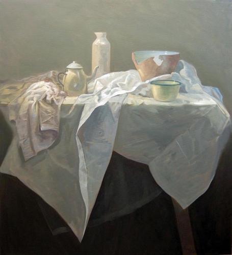 Petra Reece: Still LIfe with Broken Bowl 2011 image