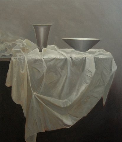 Petra Reece: Still Life with Bowl & Vessel 2011 image