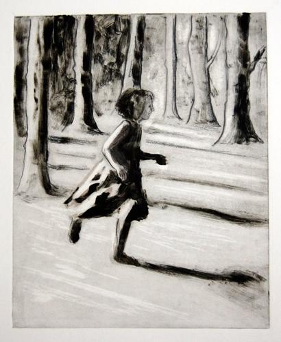 Petra Reece: Girl Running II 2012 image