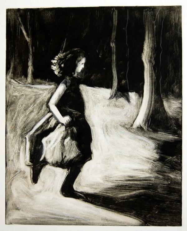 Petra Reece: Girl Running III 2012 image