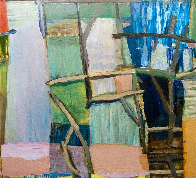 Kate Dorrough: Riverbank and sticks 2011 image