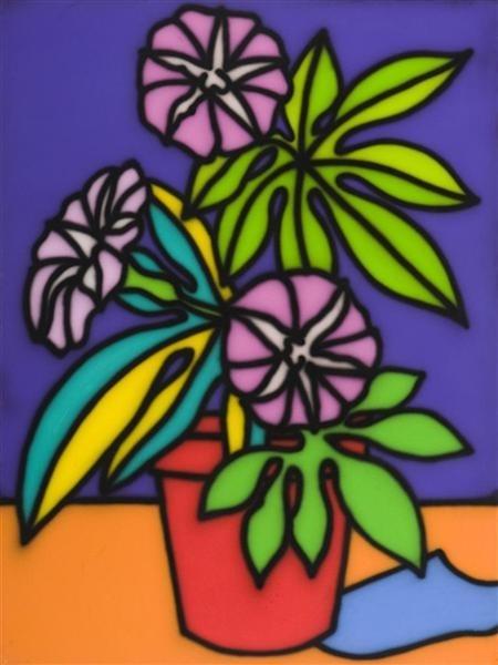 Still Life - Petunias image