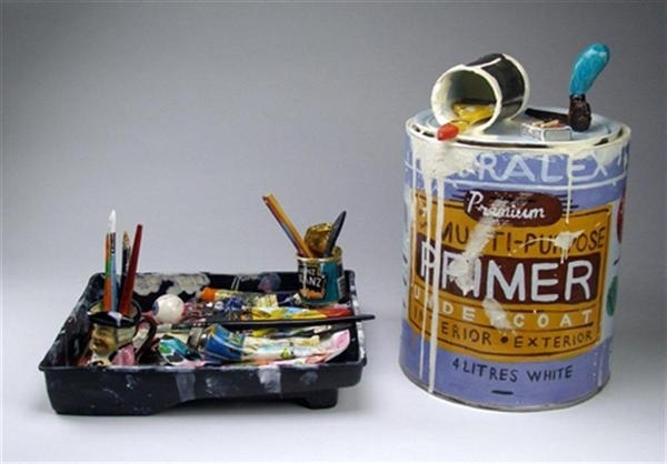 Paint Tray, Paint Tin image