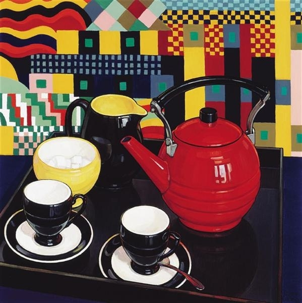 The Red Teapot image