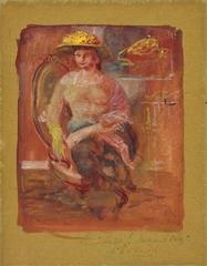 Sketch for MArgaret Olley image