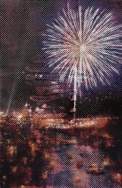 Fireworks 2 (blue) image