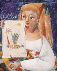 Girl Reading image