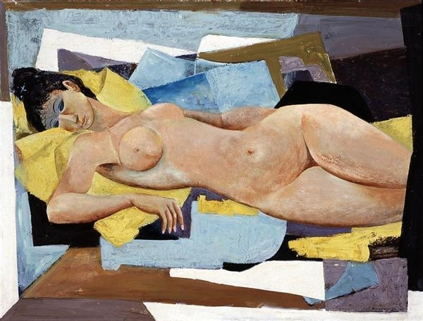 Reclining Nude image