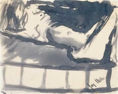 Reclining Female Nude image