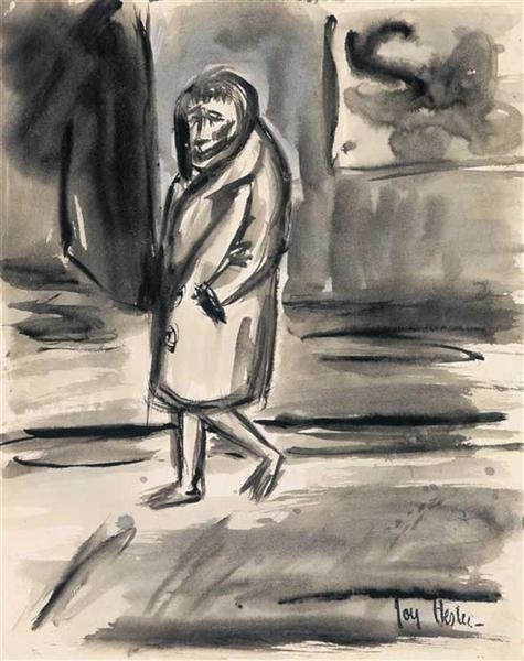 Woman in Street image