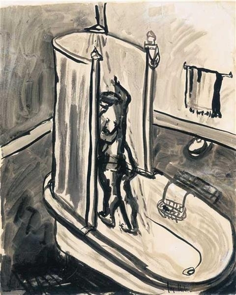 Woman in Shower image