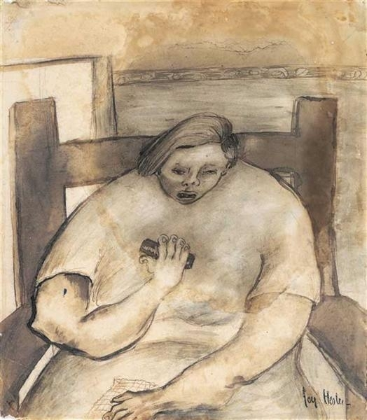 Woman with Harmonica image