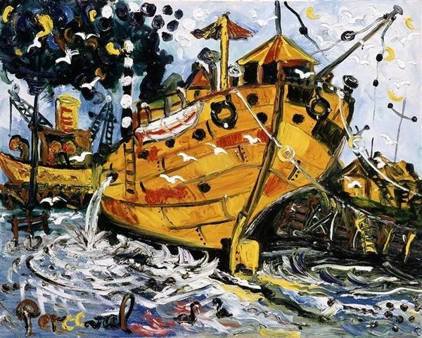The Old Tug Boat image