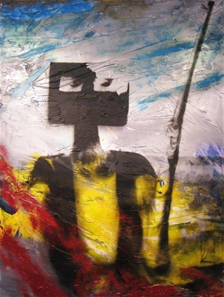 Reinhardt Dammn U Could B Mine/Big Ned (Kelly at Glenrowan on fire) image