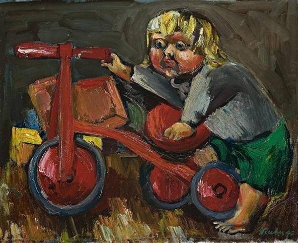 Sweeney with Tricycle image