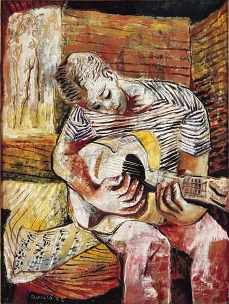 Boy with Guitar image