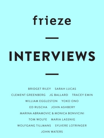 Frieze Interviews image