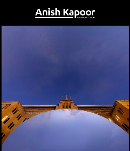 MCA launches the Anish Kapoor 'living' digital catalogue. image