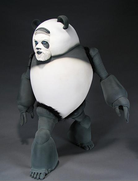 Self Portrait as a Panda image