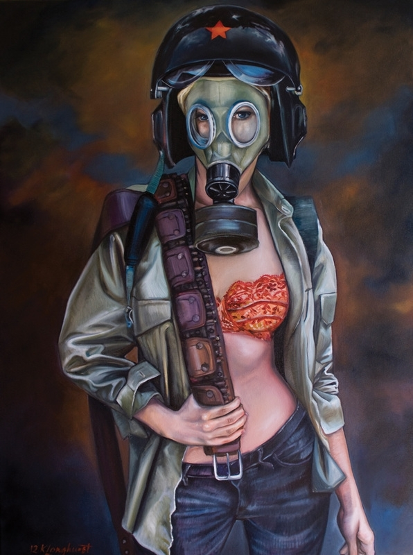 Kathrin Longhurst: Combat Girl image