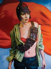 Kathrin Longhurst: Girl with Ammunition Belt image