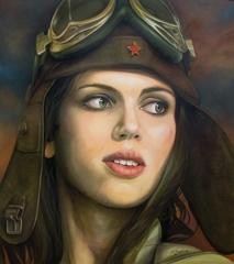Kathrin Longhurst: Elaine as Pilot Girl  image