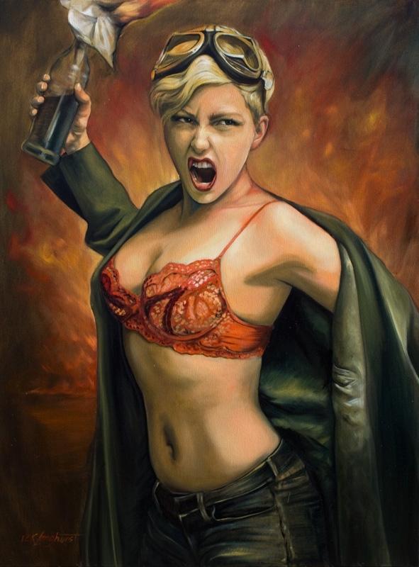 Kathrin Longhurst: Molotov Girl  image