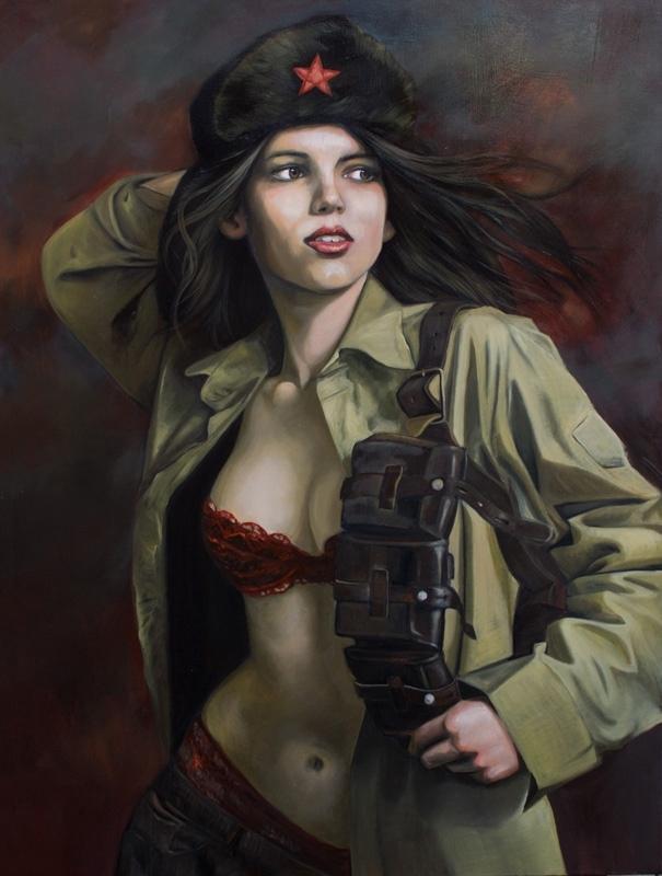 Kathrin Longhurst: Partisan Girl image