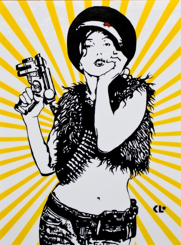Kathrin Longhurst: Kossack Girl image