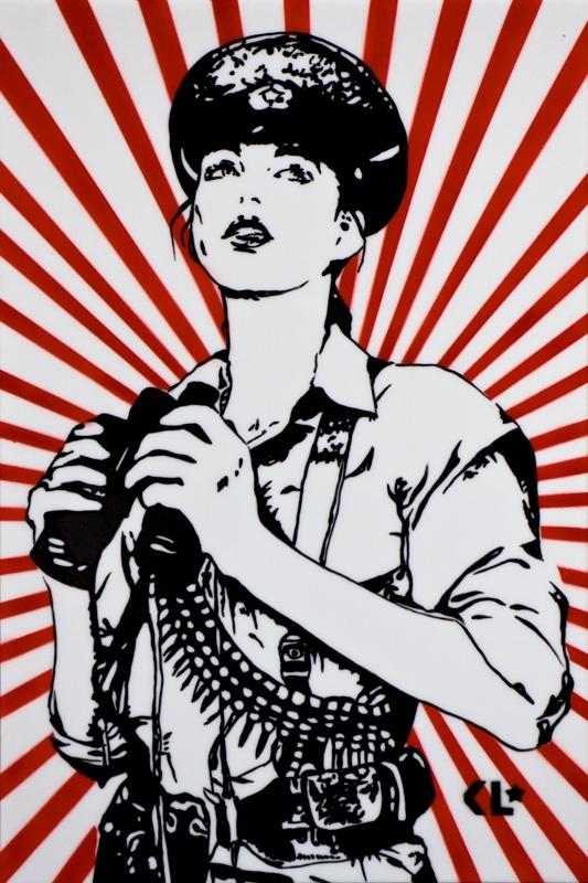 Kathrin Longhurst: Army Girl II  image