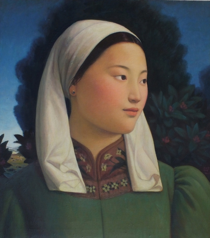 Xue Mo: Mongolian Girl  image