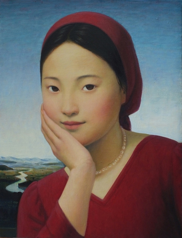 Xue Mo: Red image