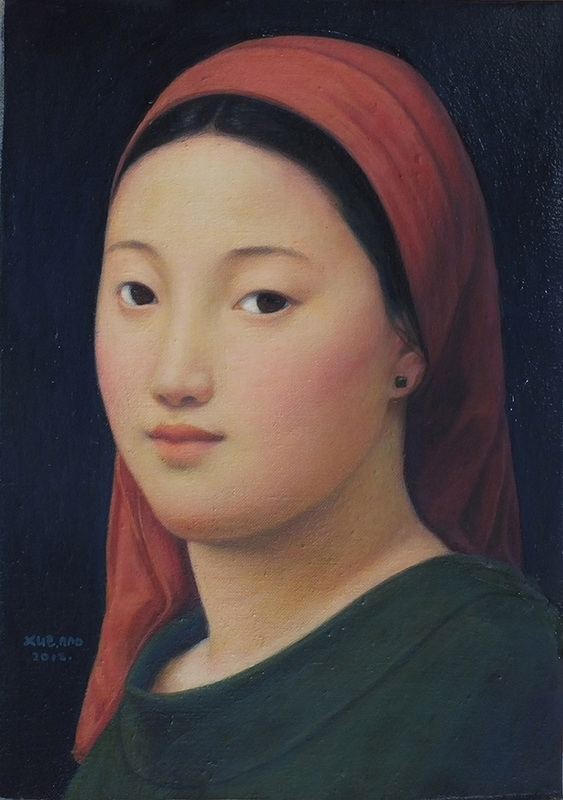 Xue Mo: Portrait of Miss Naya  image
