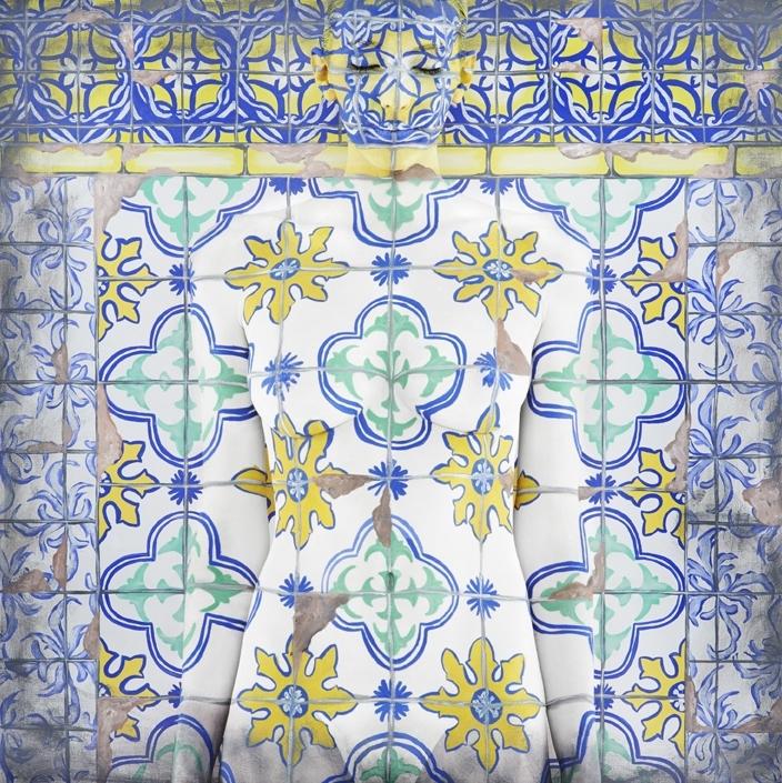 Emma Hack: Dwelling Facade, Lisbon image