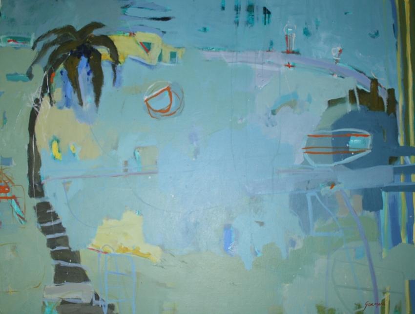 Kate Gorman Title: The Lone Palm image