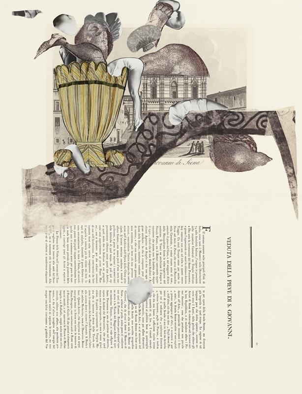 Sophia Xeros-Constantinides: Natura Morta #10 (Veduta della Pieve di S.Giovanni di Siena)  image