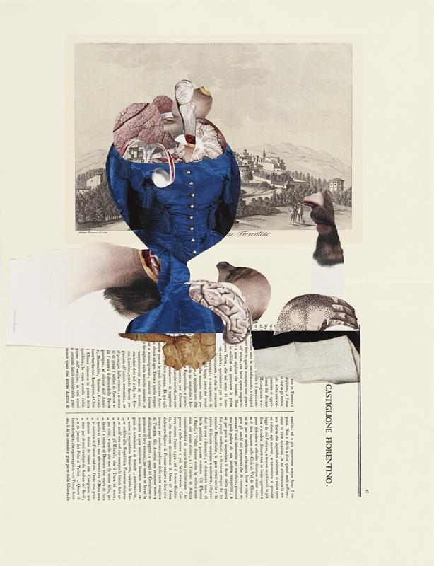 Sophia Xeros-Constantinides: Natura Morta #11 (Veduta di Castiglione Fiorentino)  image