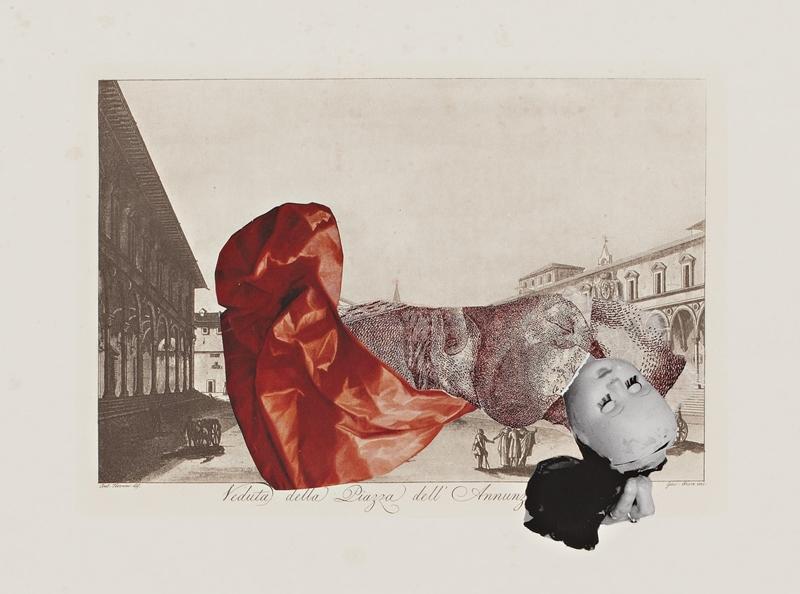 Sophia Xeros-Constantinides: La Figura nella Veduta #2 (Veduta della Piazza dell'Annunziata)  image