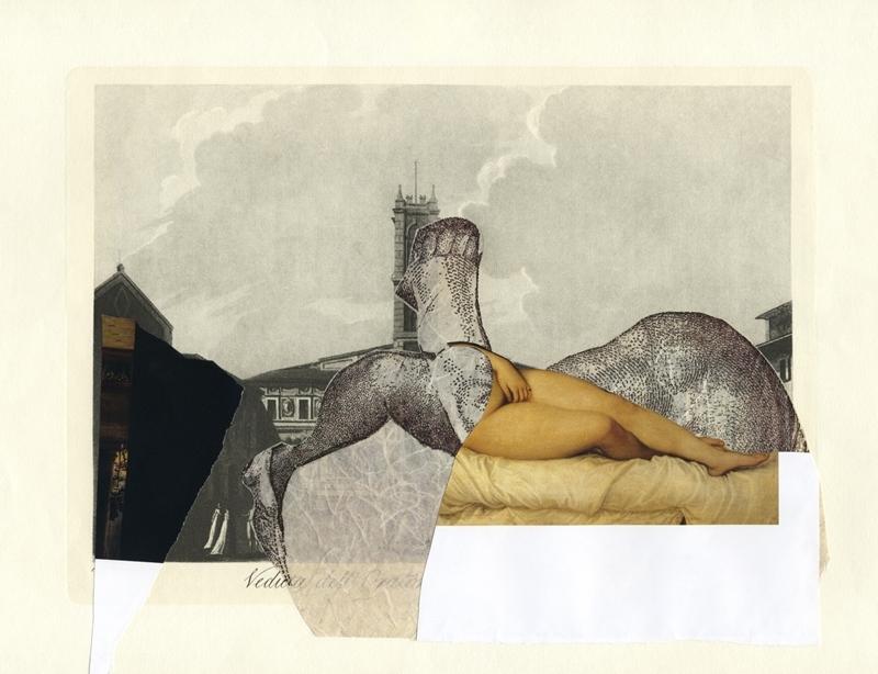 Sophia Xeros-Constantinides: La Figura nella Veduta #3 (Veduta dell'Oratorio della Terra di S.Giovanni))  image