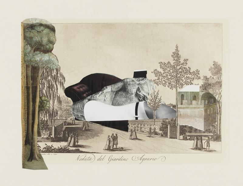 Sophia Xeros-Constantinides: La Figura nella Veduta #4 (Veduta del Giardino Agrario)  image