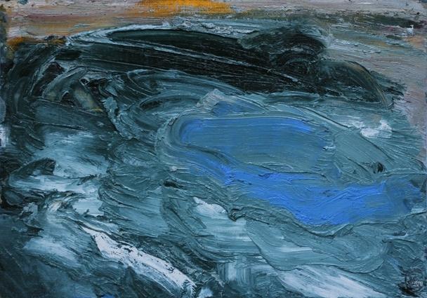 Rowen Matthews: Dusk River image