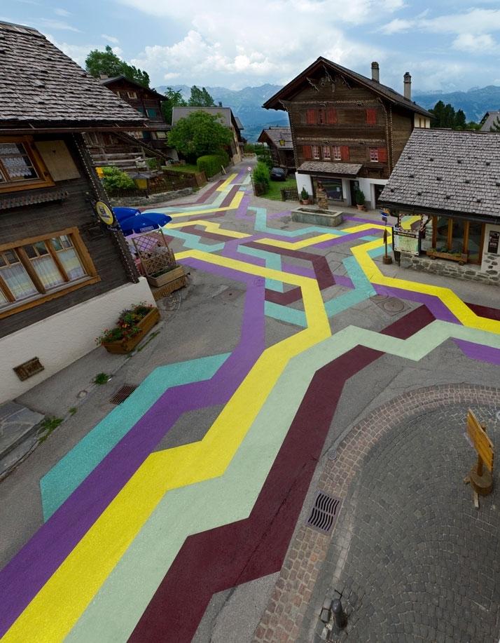 Street Painting #5 (Vercorin)  image