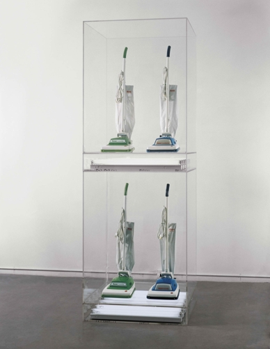 Jeff Koons: New Hoover Convertibles Green Blue New Hoover Convertibles Green Blue Doubledecker image