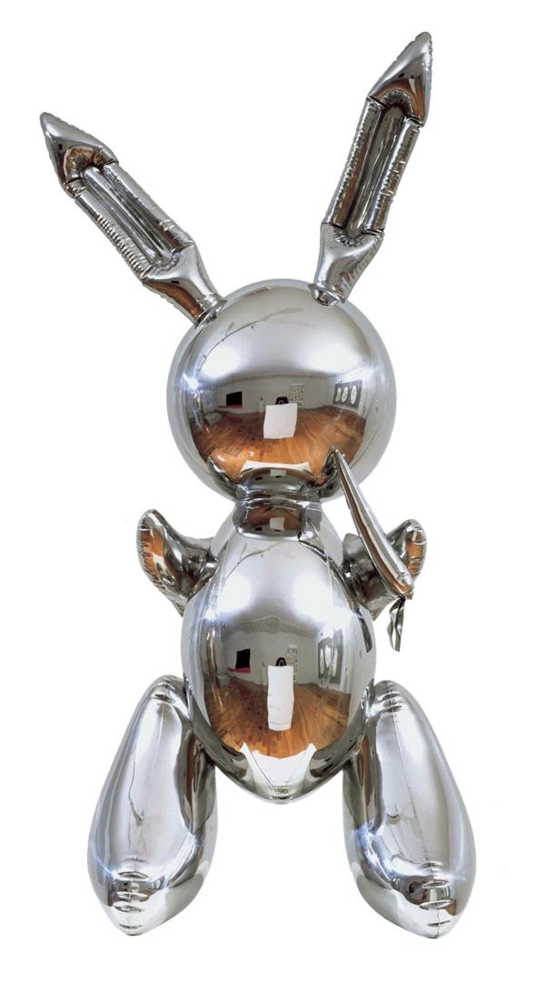 Jeff Koons: Rabbit image