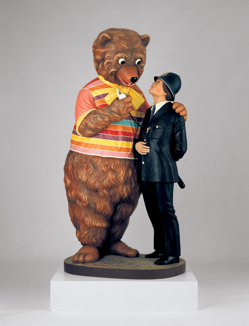 Bear and Policeman image