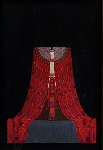 Erte - La Mer Rouge image